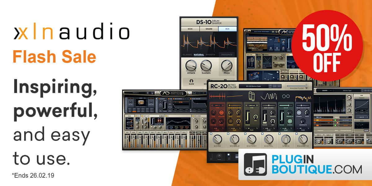 XLN Audio Flash Sale: Save at Plugin Boutique