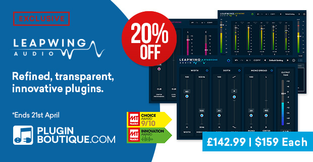 Leapwing Introductory Sale (Exclusive), save 20% off at Plugin Boutique