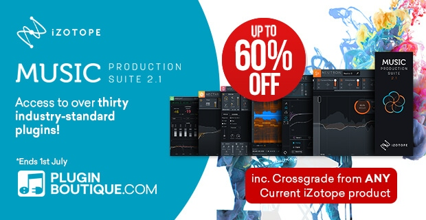 iZotope MPS 2.1 Intro sale, save up to 60% off at plugin Boutique