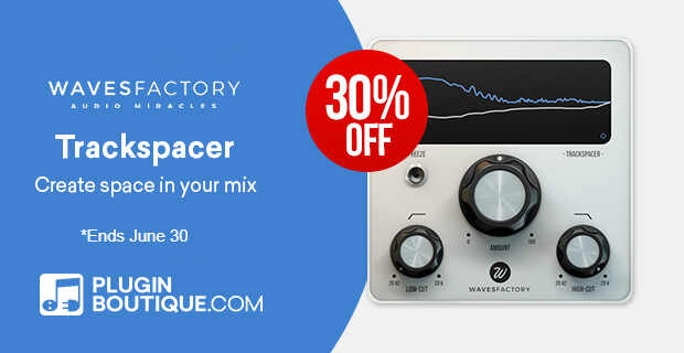 Wavesfactory TrackSpacer Dynamic Processor: Save at Plugin Boutique