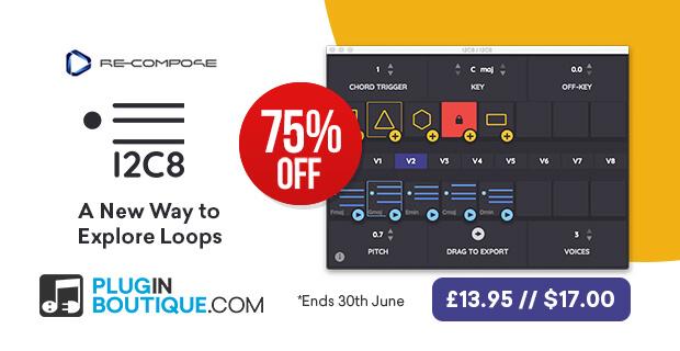Re-Compose I2C8 Flash Sale, save 75% off at Plugin Boutique