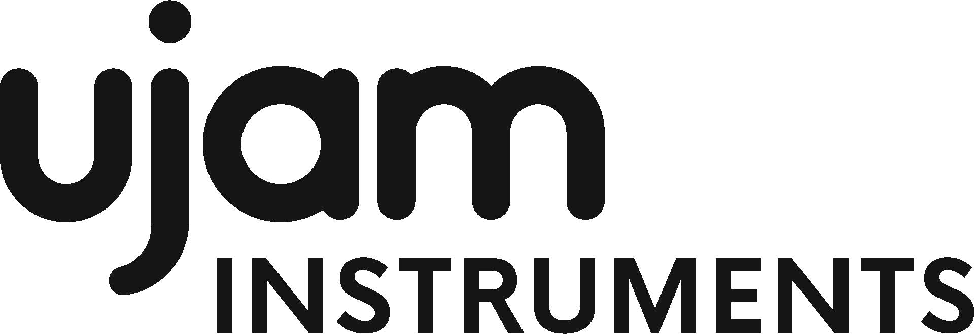 Ujam instruments logo positive