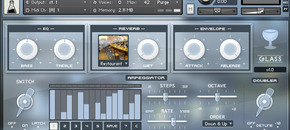 Audiothing glass gui