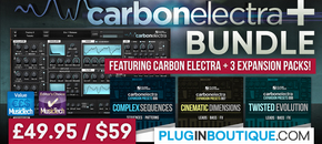 1200 x 600 pib carbon electra   bundle pluginboutique